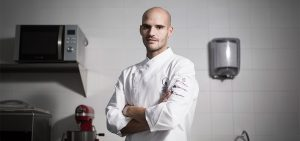 Pepe Isla, maestro pastelero ganador World Chocolate Masters